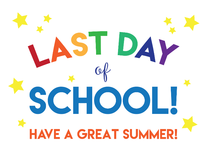 Last Day of School - June 12, 2020